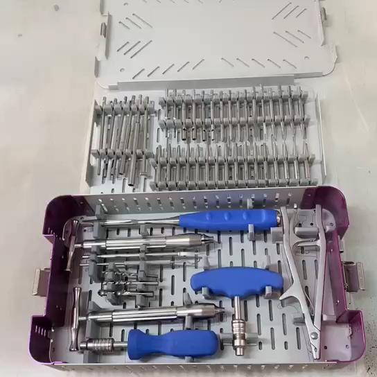 orthopedic Broken Screw removal instrument kit