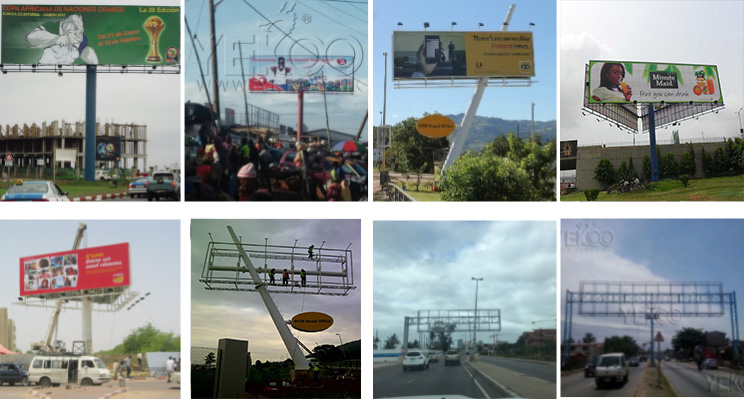 product-YEROO-Unipole outdoor steel structure advertising billboard material-img-10