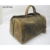 good quality genuine leather overnight duffle bag