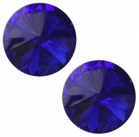 Size 14x10x5.5mm more colors for choice rivoli back faceted oval crystal cabochons