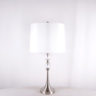 New design nordic modern luxury clear crystal led table lamp