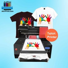 Inkjet Printer Fabriek A3 Direct Naar Kledingstuk Dtg Printer Gepersonaliseerde Custom T-shirt Drukmachine