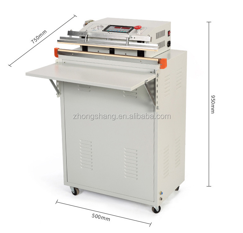 Cheaper semi automatic rice/corn/bread vacuum and Inflatable packaging machine