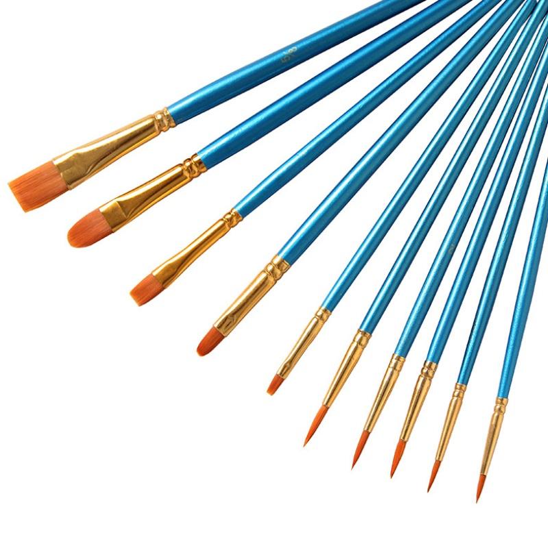 10 шт. в наборе кисть для краски, Hotsale Art Supplies краска кисть