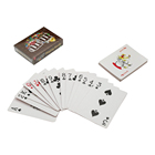 Custom printing cardboard poker paper playing cards