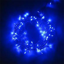 ICOCO светодиодный светильник на рождественскую елку, светильник 100/200/300/500, светодиодный Сказочный светильник s, рождественские вечерние, для ...(Китай)
