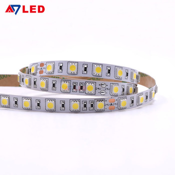 Heat resistant dc 12v/24v 14.4w/m ip20 ip65 ip67 ip68 60led smd 5050 led strip light