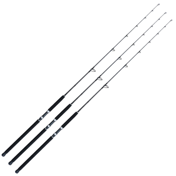 Customized 1pc M/MH/H power carbon sea fishing popping rod