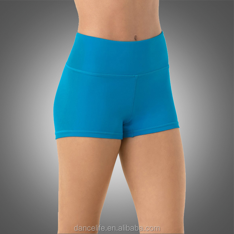 NWT DANCE Costume Jazz Booty Shorts Royal Blue Adult//Child Sizes