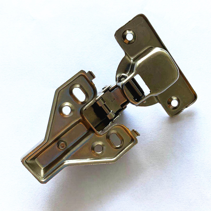 3D Adjustable 26mm cup one way spring kitchen Cabinet glass door hinge