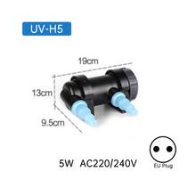 УФ-стерилизатор 220 В, светильник для аквариума мощностью 36 Вт, светильник с ультрафиолетом, очиститель воды для аквариума, аквариума коралло...(Китай)