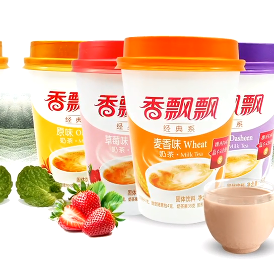 Großhandel milch tee chinesische instant milch tee Xiangpiaopiao milch tee pulver