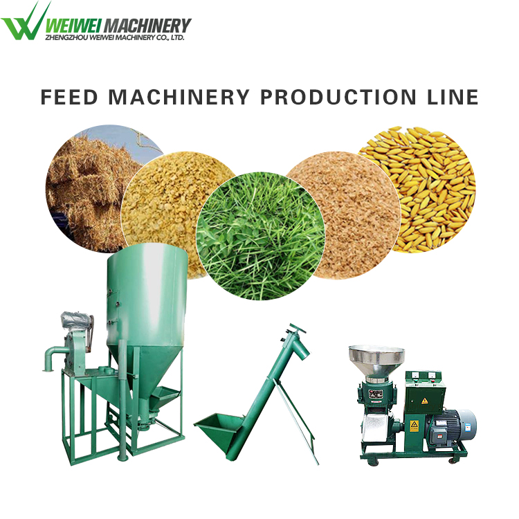 Weiwei cheap price for chicken feed production line