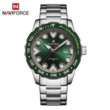 NAVIFORCE мужские часы Топ бренд класса люкс Спортивный Хронограф Военная армия наручные часы Бизнес Кварцевые часы Relogio Masculino(Китай)