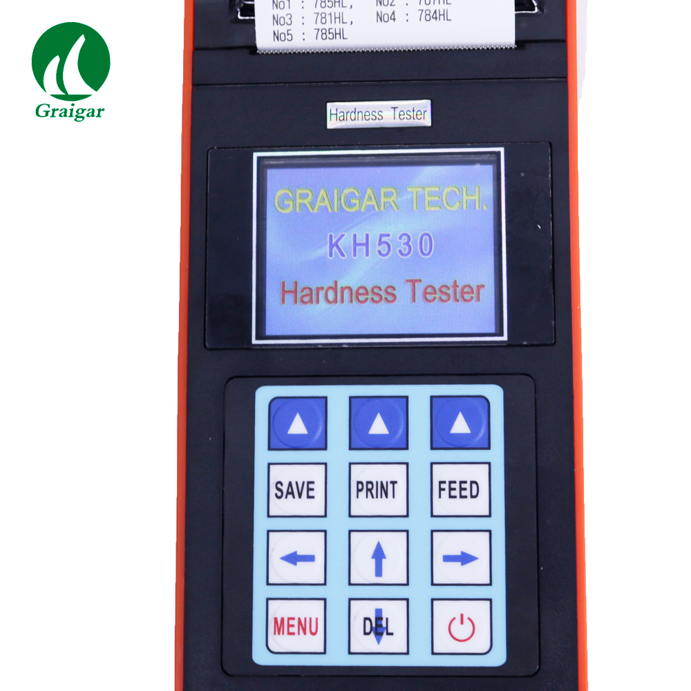 KH530 Digital Leeb Hardness Tester