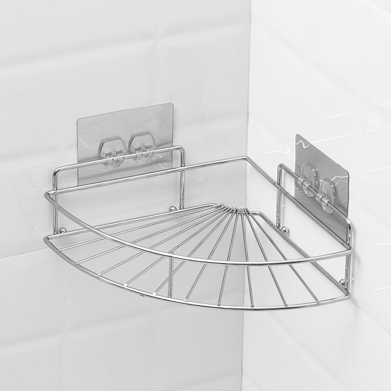 Convenient Ironbath Shower Rack Adhesive Corner Bathroom Shelves Buy Bathroom Shelves Iron Bathroom Corner Shelf Corner Coat Rack Shelf Product On Alibaba Com