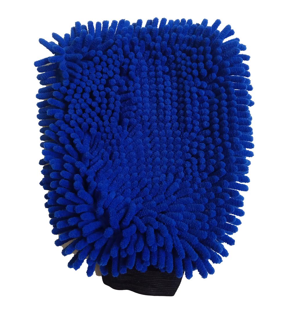 De alta qualidade Novo estilo auto chenille micro fibra de limpeza de microfibra sova car microfiber chenille wash mitt