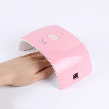Factory Direct Wholesale  Easy Apply 18W Mini Nail Lamp with 9 LED Beads