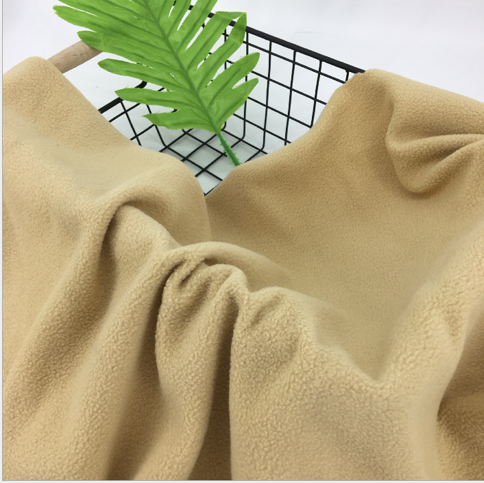 100% polyester micro recycelt anti pilling polar fleece recycle stoff für home textil