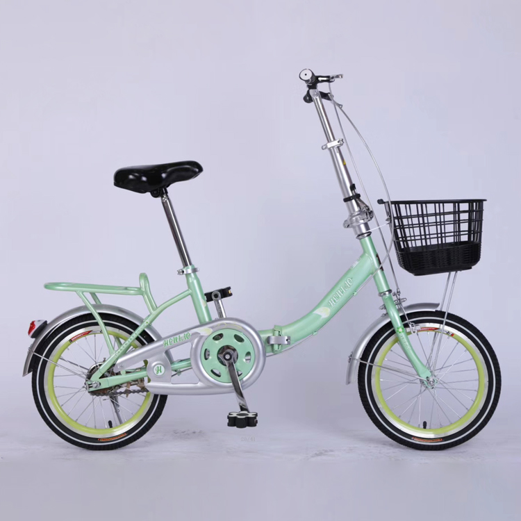 26 inch steel comfortable folding city bicycle bike for woman from China