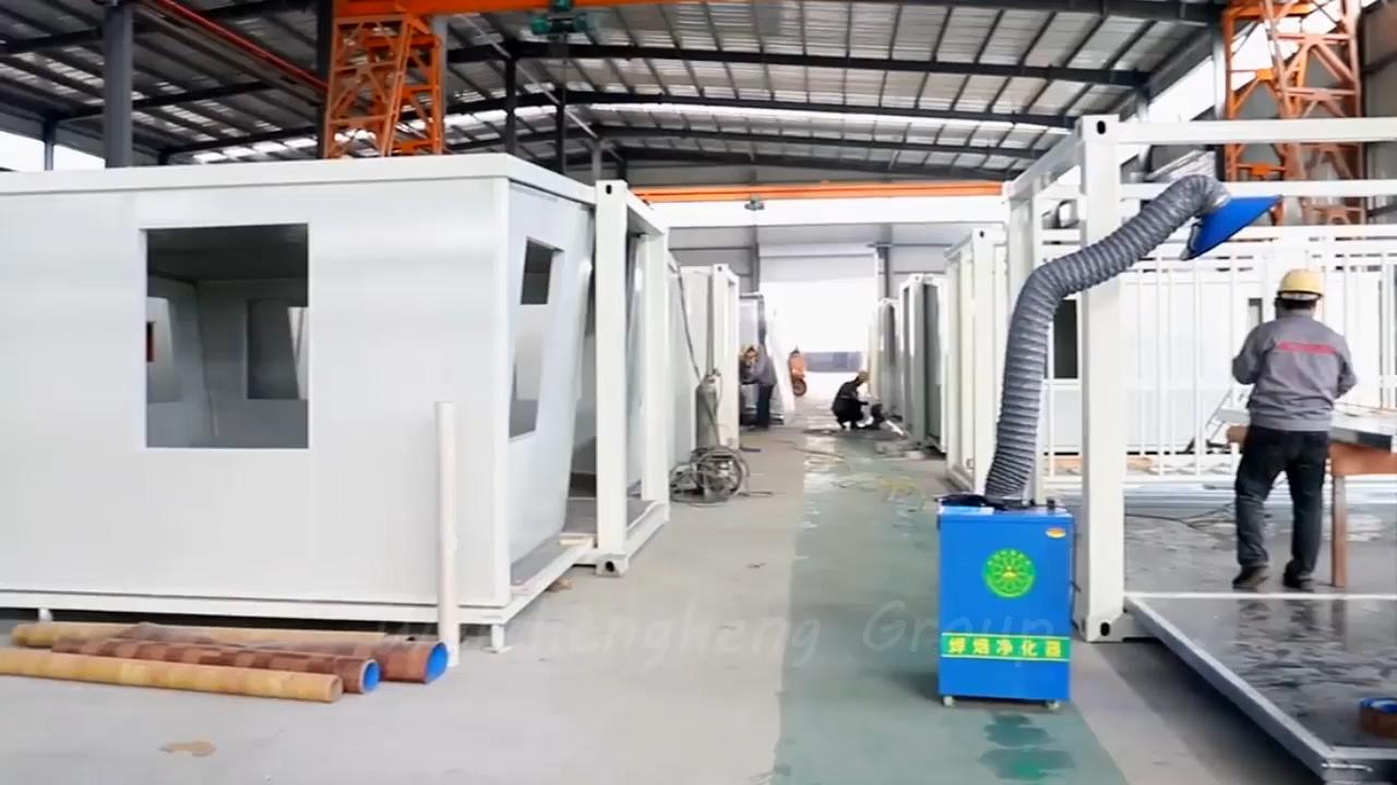 الصين رخيصة 40 قدم منزل فاخر الجاهزة وحدات المنازل منزل حاوية قابلة للتوسع