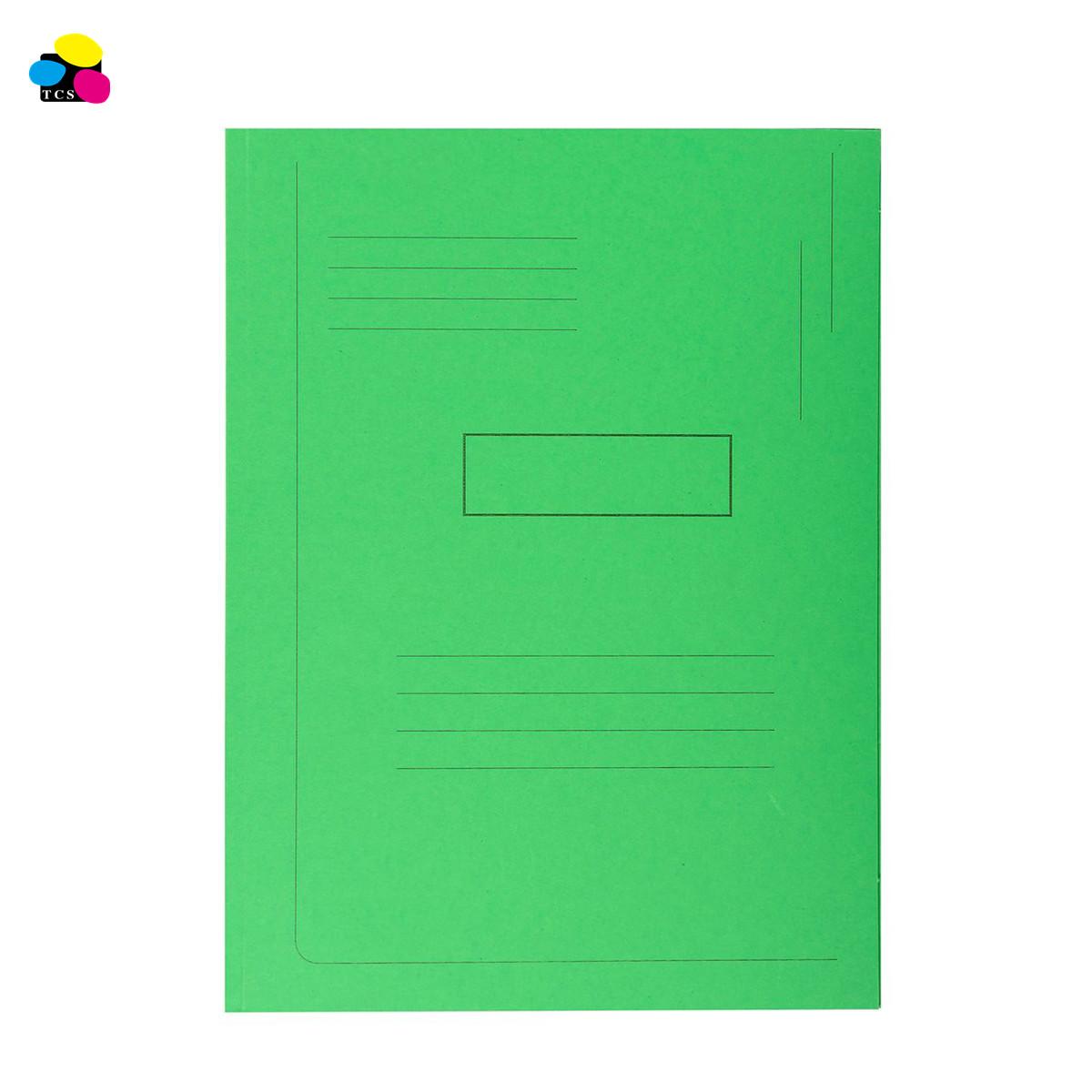 Hot Selling Office School Elastic Banded 350G Pressboard 3-Flap Folders