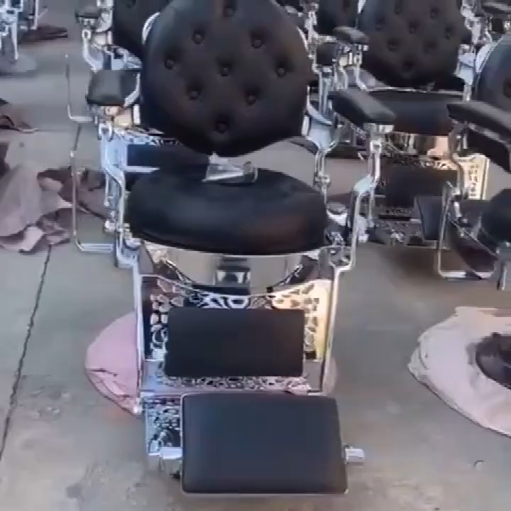 サロンヘア機器理髪ポールアンティーク理髪椅子美容師赤い理髪椅子販売