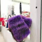 2019 new Price Luxury Color Fox Fur bag fur clutch bags for women