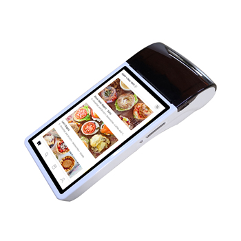 Android handheld pos terminal bluetooth wifi mobile pos systems touch screen machine with printer