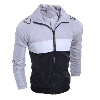 Custom 2019 Hot Sale Waterproof Sports Turn-down Collar Man Jacket