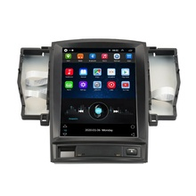 Tela grande Android 9.0 multimídia Carro dvd Player Para Toyota crown 2005-2009 stereo multimedia radio BT IPS