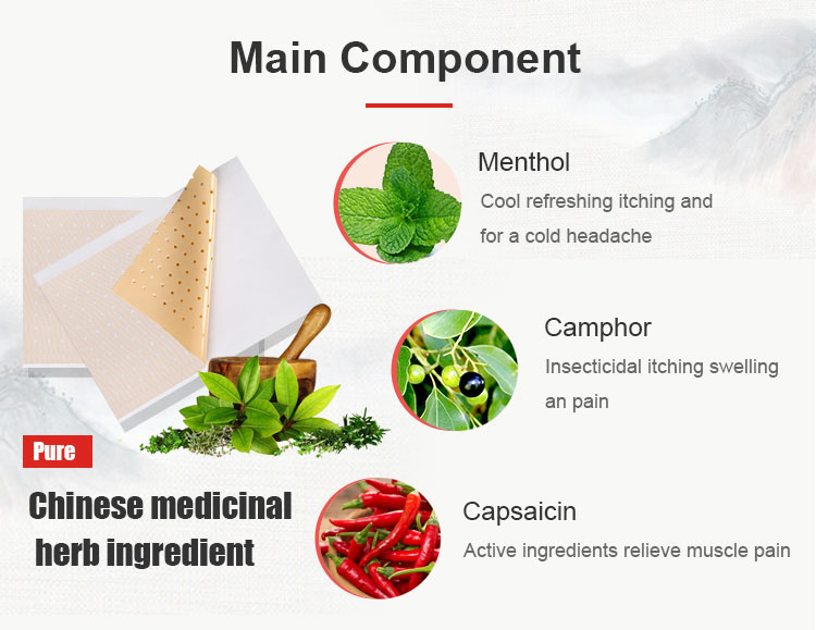 Extract medicated capsicum plaster for pain relief