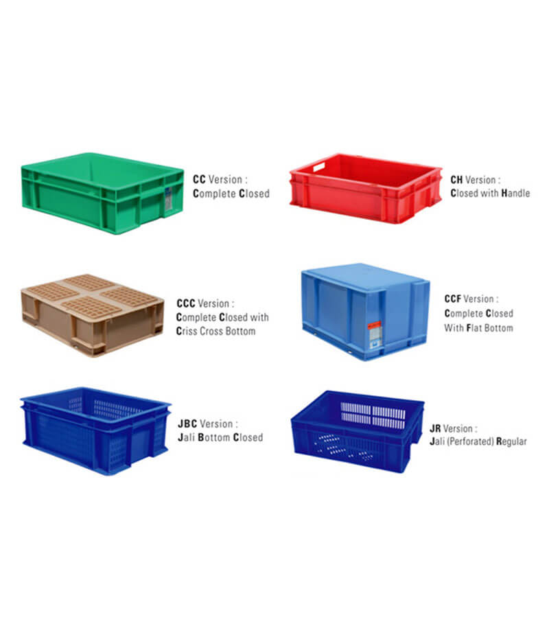 plastic turnover boxes