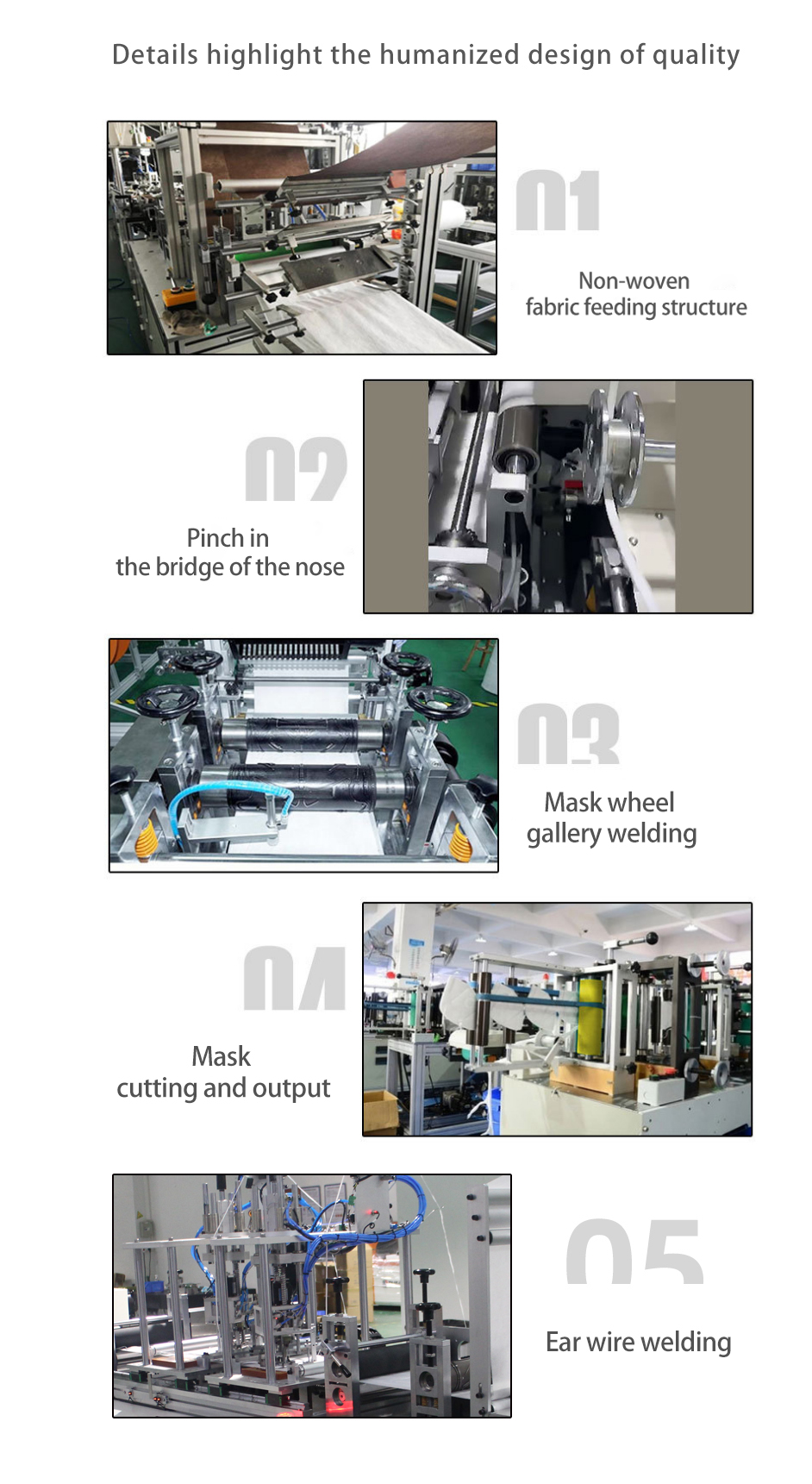 Максимальная скорость 80 шт./мин n95 полностью автоматическая машина для изготовления масок kn95 машина для изготовления масок