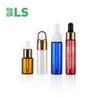 2020 free sample 5ml 10ml 15ml wholesale tester bottles mini small tubular dropper glass vials