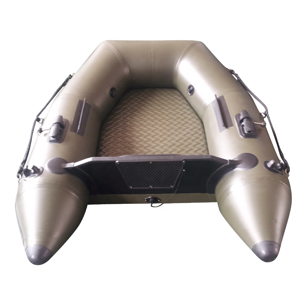 1.6M Airmat Floor inflatable <strong>boat</strong> with CE.High quality.With outboard motor