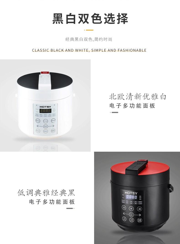 HOTSY 큰 전기 압력 쿠커 전기 압력 쿠커 4l 전기 밥솥 압력