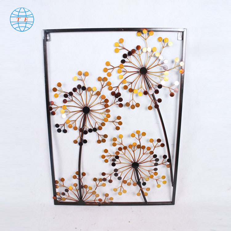 Simple modern creative metal aesthetic home decorative wall art