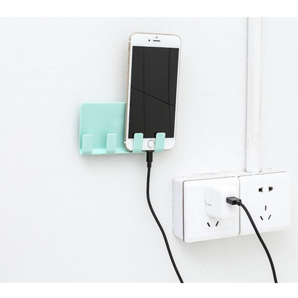 ABS Wall Phone <strong>Holder</strong> Base Wall Phone <strong>holder</strong> Charging <strong>Stand</strong> For iphone <strong>ipad</strong> smartphones wall <strong>stand</strong> <strong>holder</strong>