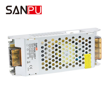 Power Supply Aluminum 60W 12V SANPU New Arrival AC 110V to DC 12 V Single Output Small Without Fans for led strip