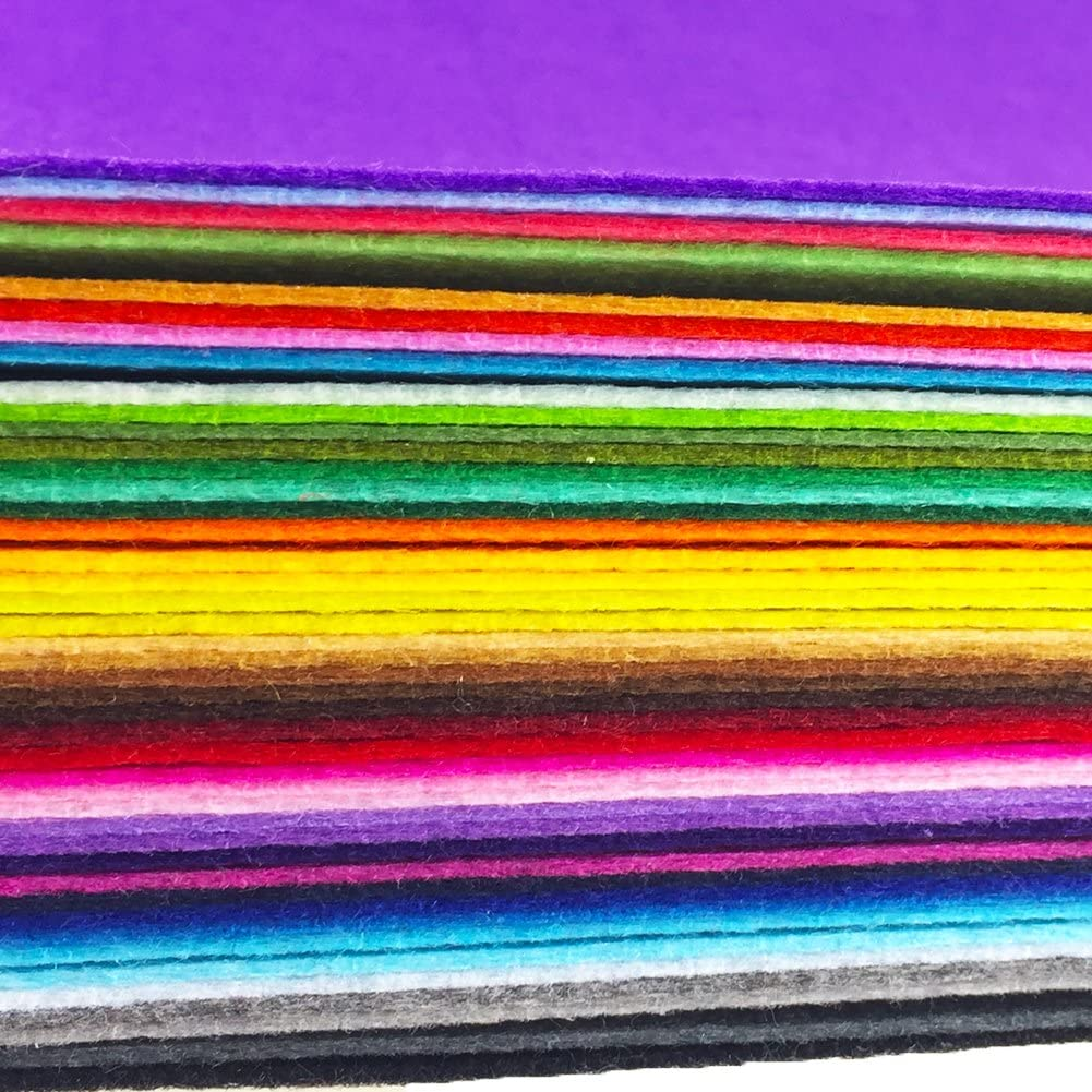 Factory price 1mm 2mm 3mm 4mm 5mm or custom thickness nonwoven stiff felt fabric sheets
