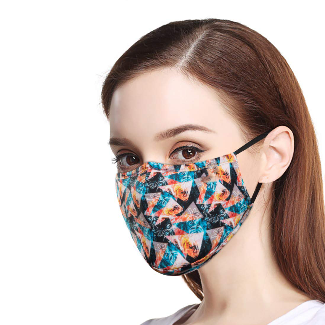 <strong>Custom</strong> printed breathable cotton outdoor horror <strong>halloween</strong> mouth <strong>mask</strong> party wear face <strong>masks</strong>