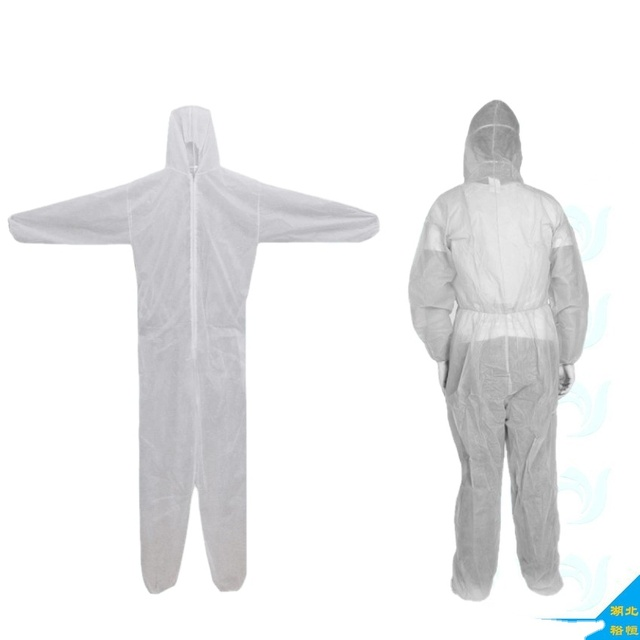 disposable chemical working protective coveralls safety coveralls 50gsm