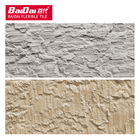 Baidai soft stone series wall cladding wall tile interior and exterior wall or floor using Andrew stone