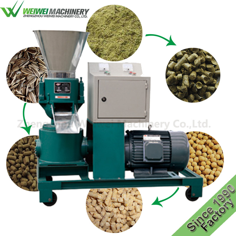 Wwjx multifunctional pig feed pellet production machine