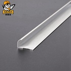 White 3mm Curved White 3mm Aluminum Metal Trim Paint