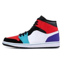 Оригинал 2020 Мужская баскетбольная обувь 1 1s Obsidians бесстрашные союзы женские мужские кроссовки спортивные кроссовки для бега 5,5-12 оптовая про...(Китай)