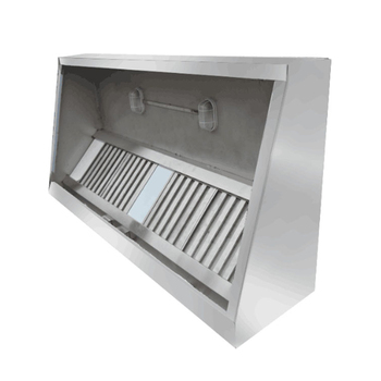 Stainless Steel Commercial Carbon Fiber Hood Vent /Industrial Kitchen Hood /Portable Cooker Hood