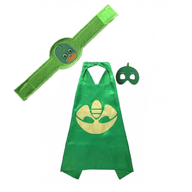PJ Masks плащ Juguete Catboy Owlette Gekko фигурки костюмы на Хэллоуин Аниме Косплей украшение на день рождения подарок игрушки для детей(Китай)