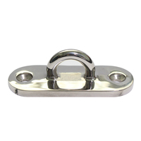 Hot sale marine boat accessories pad eye oblong base